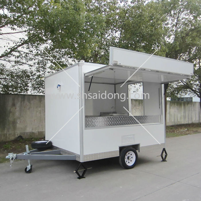 885f3a2942 Newly Commercial food Serving Trolley and Cart-fast food van-catering  trailers for sale