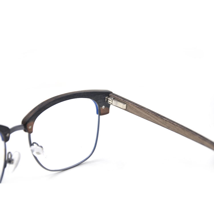 top frame glasses  Shenzhen Top Quality Half Frame Glasses Wood Frame Glasses - Buy ...