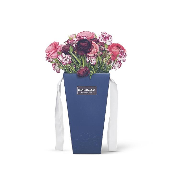 Livraison en gros bouquet cadeau bo te en carton pour l for Livraison fleurs paypal