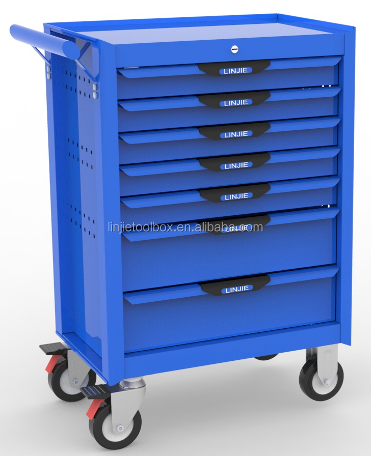 27 inch with 7 drawers rolling tool cabinet