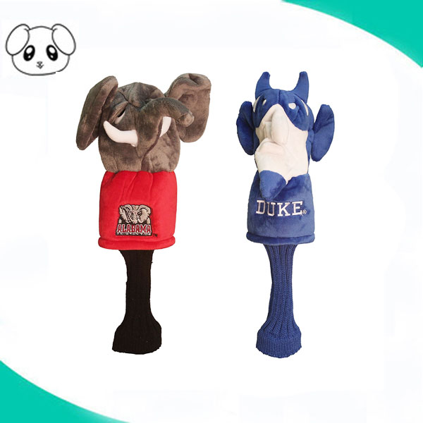 Dier pluche olifant golf club putter drive head cover