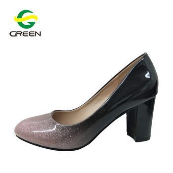 c2a6517b936 China Latest Fashion Women Thick Heel Job Dress Shoes