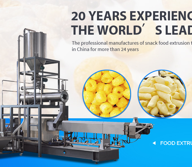Jinan Saibainuo Machinery Co , Ltd  - Food Extruder, Puff snacks