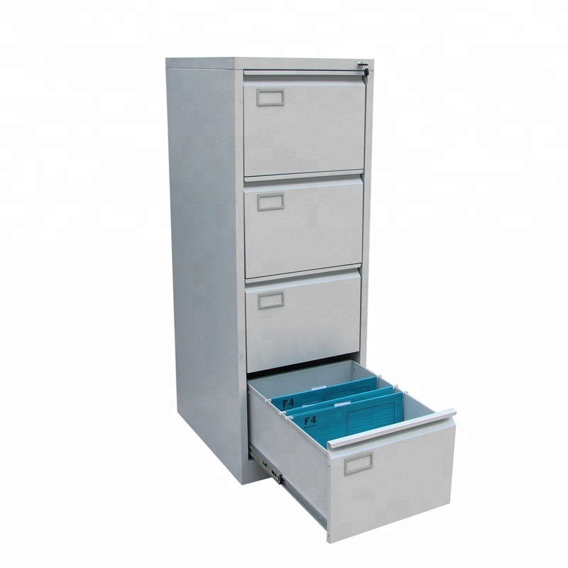 Hanging A4 Folder Metal Storage Cabinet with Four Drawer
