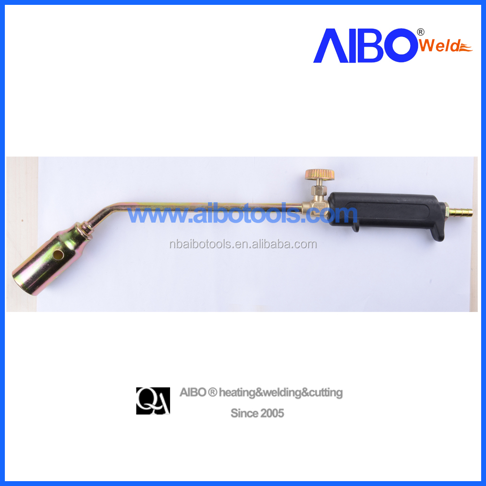 LPG heating torch with handle
