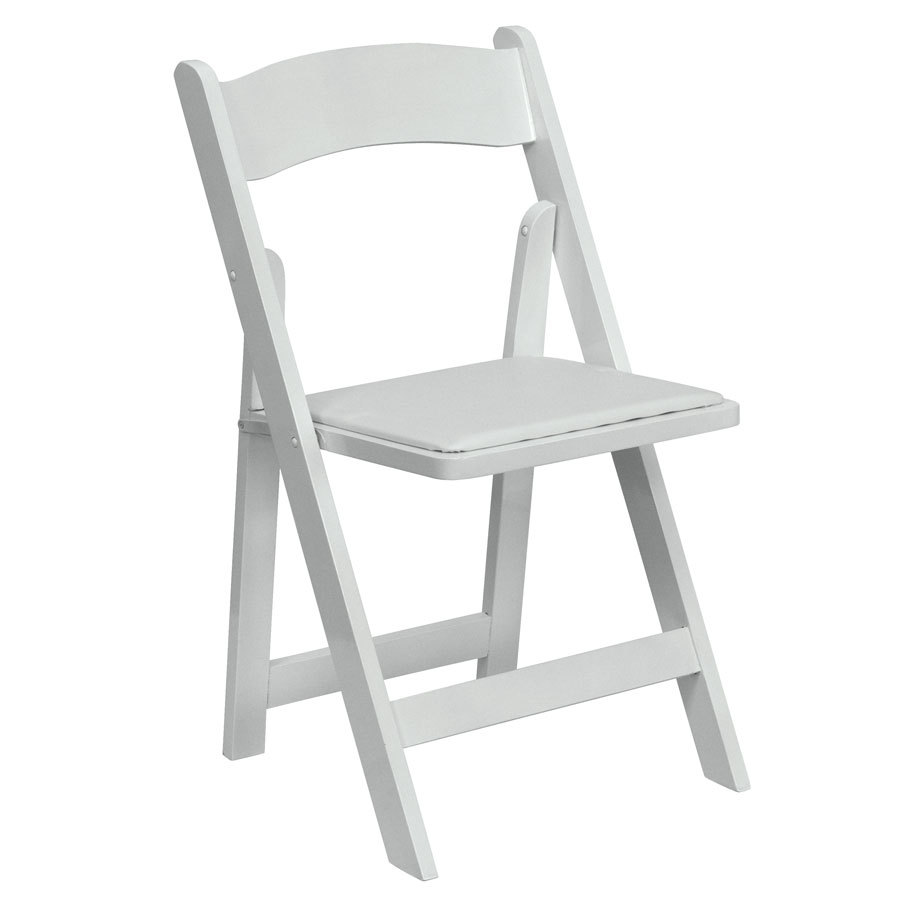 Wholesale Outdoor White Wedding Garden Used Plastic Folding Chair