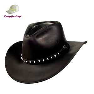 9d5c2e68255 Leather Cowboy Hats