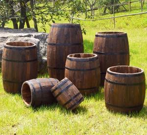 Used Wood Oak Barrels Sale
