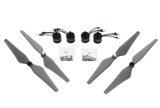Dji e305 800KV 4s kit with two pairs of props and 4 pcs motor esc dji