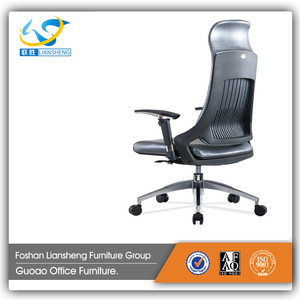 2015 Real Leather chair Office chair models for Meeting room GAL1059A