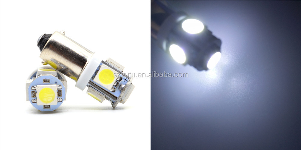 Manufactory 5SMD 5050 BA9S Led 24V for Auto SUV Indicator Car Dome Map Lights