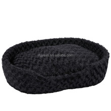 high quality plush animal pet bed,square pet beds