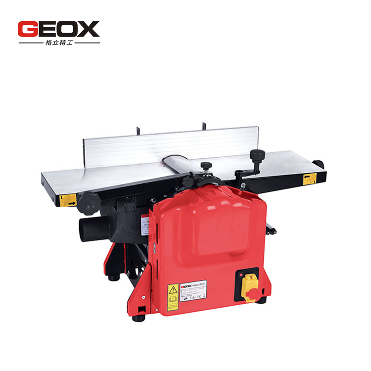 Industrial 8 inch combine wood surface planer thicknesser with dust extraction port