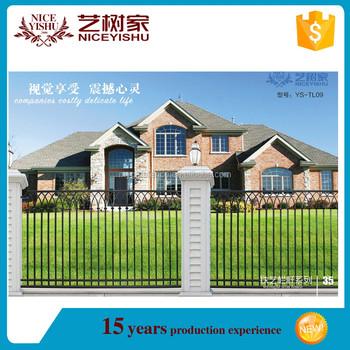 alta calidad decorativa simple valla de jardn de metal con precio bajo - Valla De Jardin