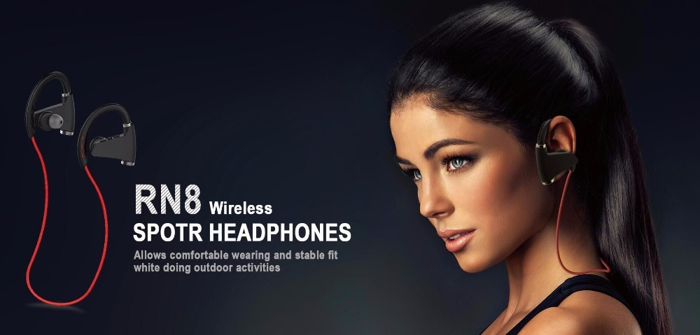 High Quality Stereo Bluetooth Noise-Cancelling Cheap Headset Headphones True wireless Handfree With Mic RN8