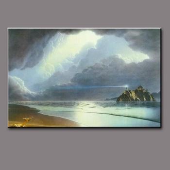 Handgemalte Bilder Auf Leinwand handgemalte leinwand moderne meerblick leuchtturm schöne seascape