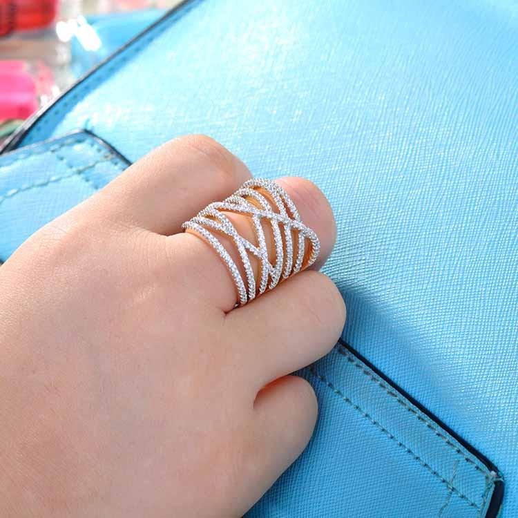 Yellow Stone Ring Gold Ring Turning Finger Black Ring For Man