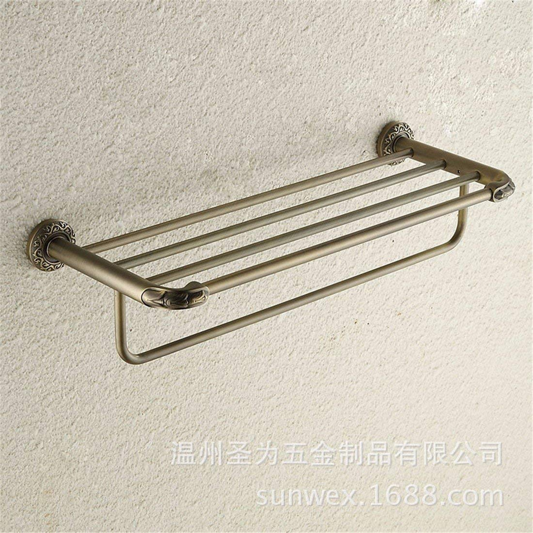LAONA European style antique bronze carving Zinc alloy bathroom accessories, towel racks, towel bars,Towel rack