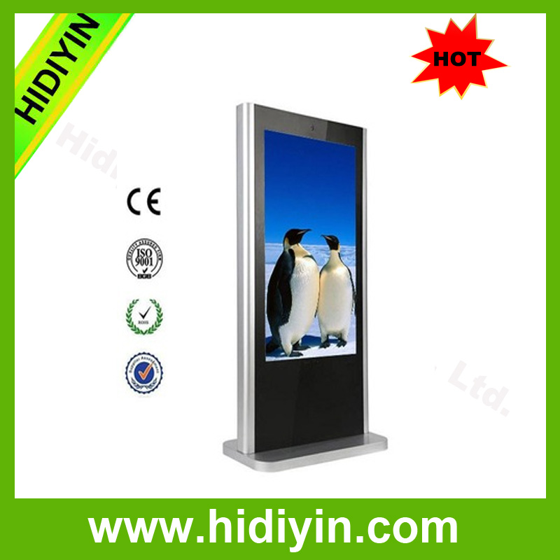 65 Inch Vcam Touch Screen Stand Up LCD Advertising Player