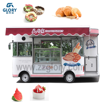 Mobile Food Truck For Fried Chickenbeersnack Mobile Salece