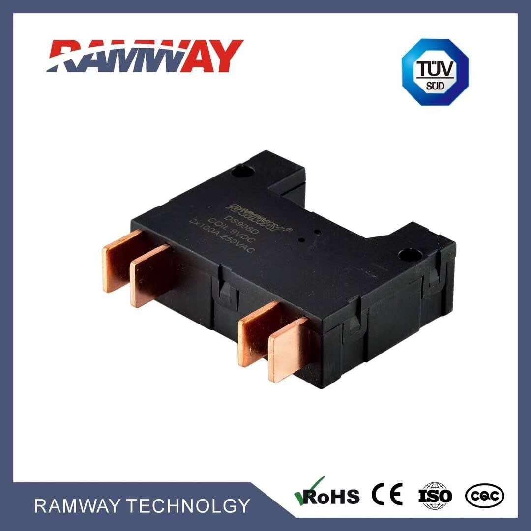 240 v 50a 100a120a DC medición relé temporizador de Control Digital interruptor de relé de enclavamiento de alta potencia relés