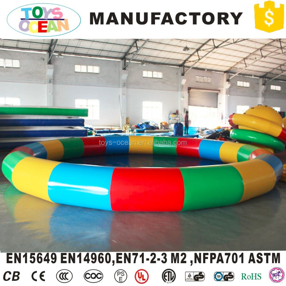 inflatable round water pool ,inflatable donut pool float,inflatable water pool for kids