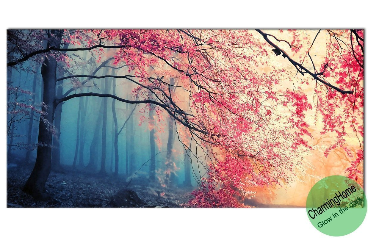 buy wall decorations for living room tree paintings for living