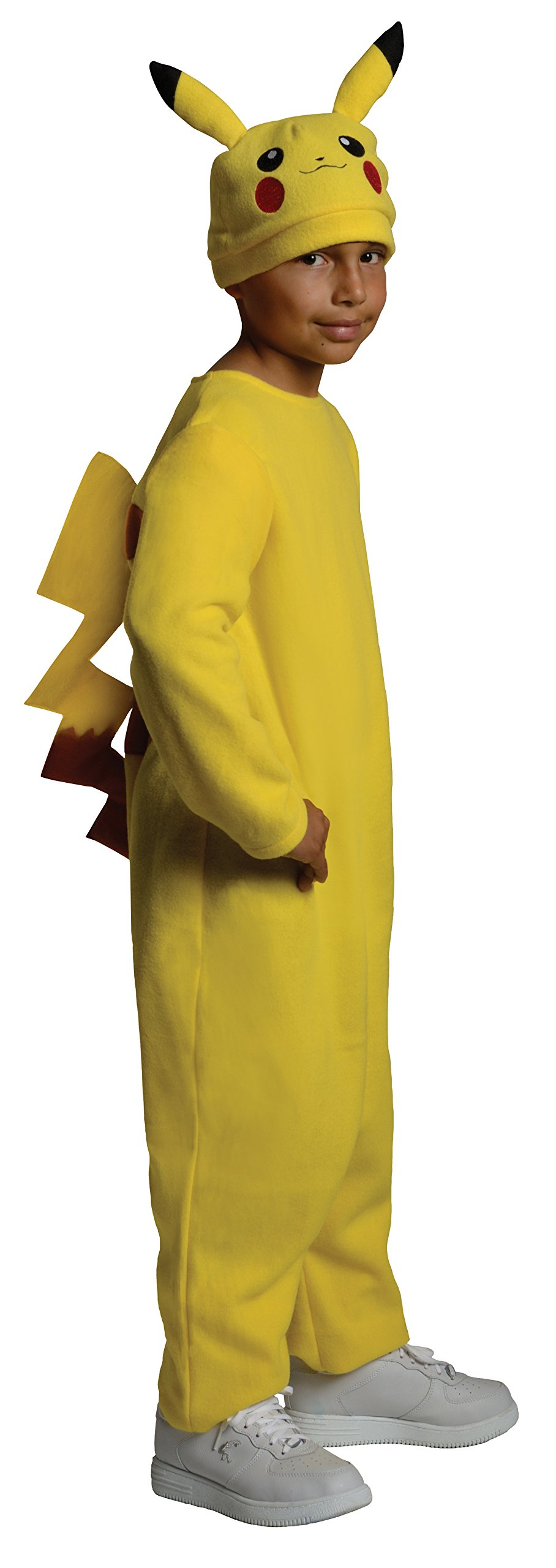 Pokemon Child's Deluxe Pikachu Costume - One Color - Small