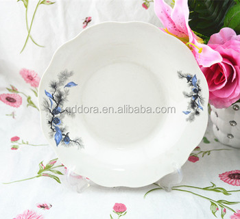 white porcelain deep plateporcelain wholesale plateswhite wavy dinner plates & White Porcelain Deep PlatePorcelain Wholesale PlatesWhite Wavy ...