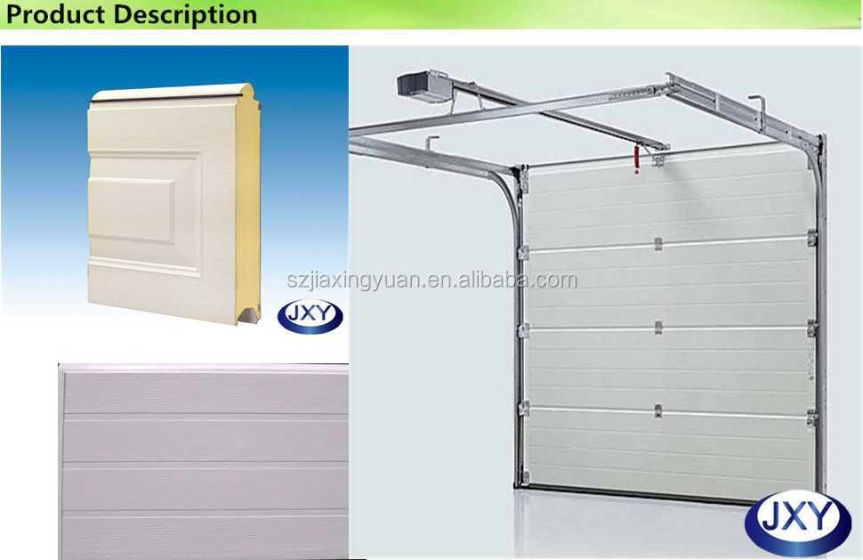 Sectional Door Panel Edge Types : Insulated sectional garage door panel buy
