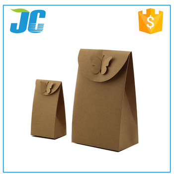 Brown Kraft Paper Bags Without Handles