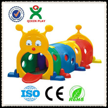Kids outdoor play tunnel; bambini giocattoli di plastica arrampicata tunnel (QX-160E)