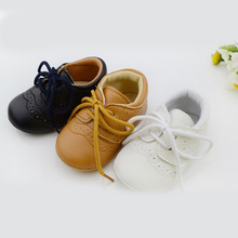 WX019 Leather Baby First Walkers Antislip First Walkers For Baby Boy Girl Genius Baby Infant Shoes  Free &Drop shipping
