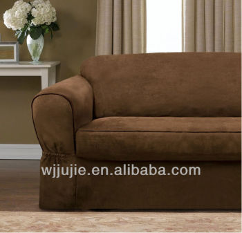 Suede Couch Covers Strecth Sofa