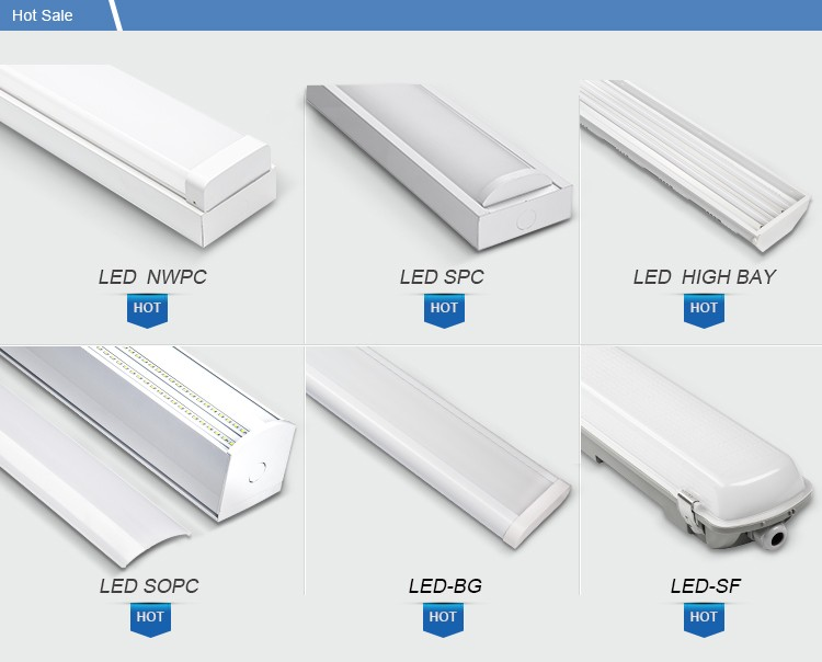 tuv-ce 50w 1500mm 5ft model 105LM/W LED Linear Architecture Fixture