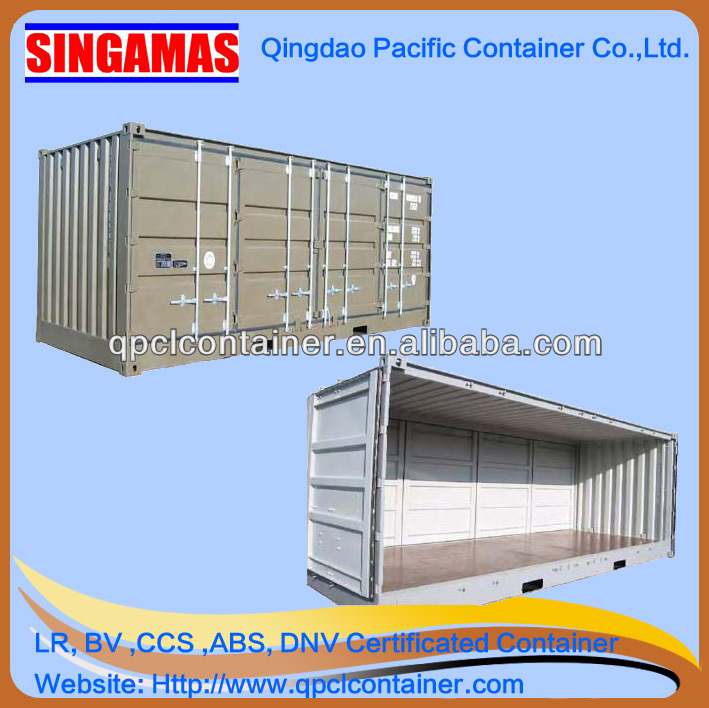 20ft/40ft/40hc open side container with CSC certificate and date plate