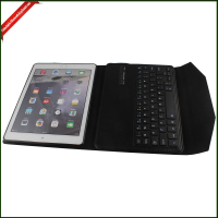 PU Leather 10 Inch Case Cover with Bluetooth Keyboard for ipad air case
