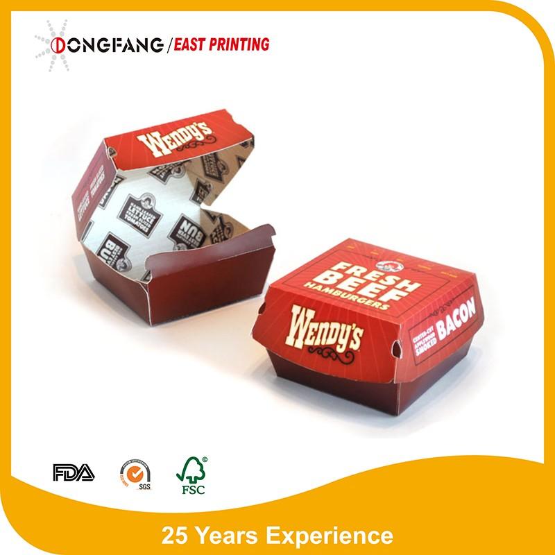 disposable packaging paper burger box templates buy paper burger