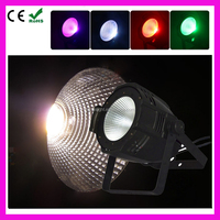 COB 100W RGBW LED PAR Light DMX Theater Front Spotlight,Television Light Production