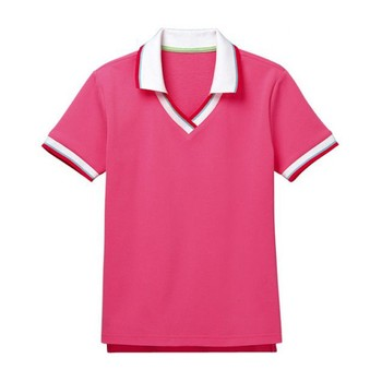 Top Fashion High Quality Women s T Shirt No Button Polo Shirt - Buy ... 2600c73162