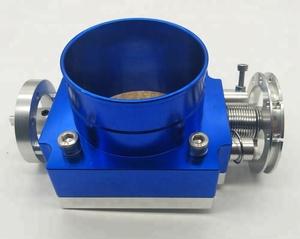 Aluminum throttle body CNC customized 65mm 70mm 80mm 90mm 100mm For  universal car