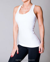 Fitness Racerback Tank Tops, Womens GYM Yoga Dri Fit T Shirts