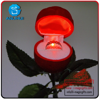 Attractive Design OEM Accepted Decoration rose LED Flower