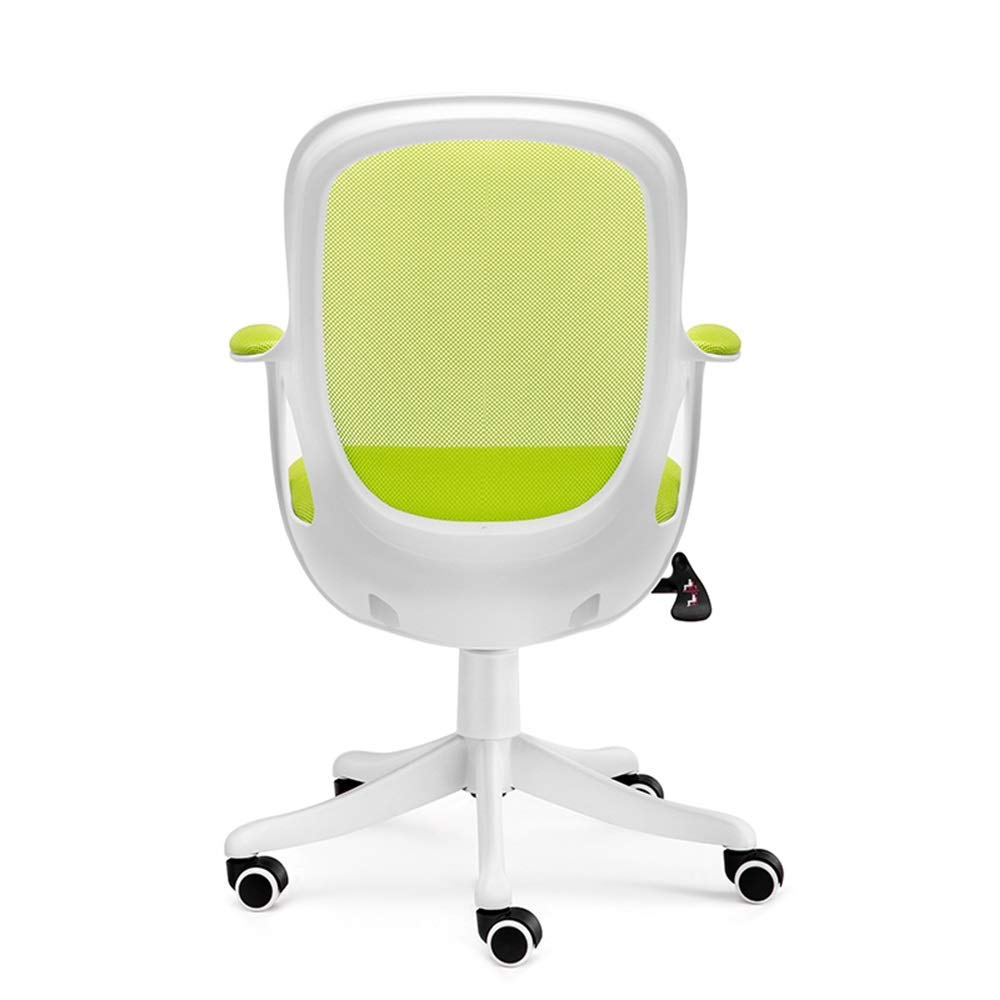 QFFL jiaozhengyi Swivel Chair,Home Computer Chair Study Chair Ergonomic Chair Office Chair Swivel Chair (Color : Green)