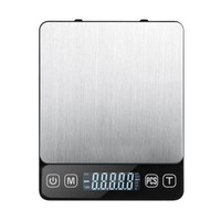Electronic LCD Display Mini Pocket Scale Digital Jewelry Weighing Scale 3kg Balance Cuisine