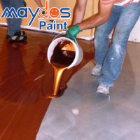 Maydos Dust-free Heavy Duty Liquid Epoxy for Shopping Mall Floor Coating