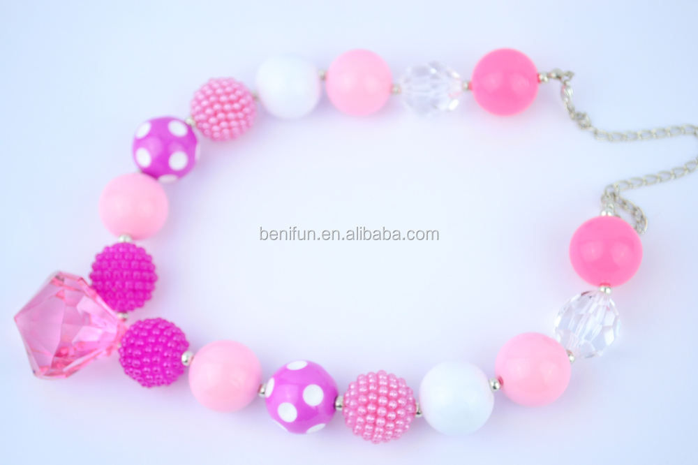 Beaded Necklace Baby Teething Necklace Wholesale Latest Design ...