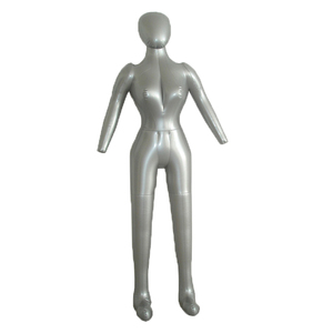Inflatable Female Full Body Mannequin Dress Form Dummy with Arms and Legs Model Display