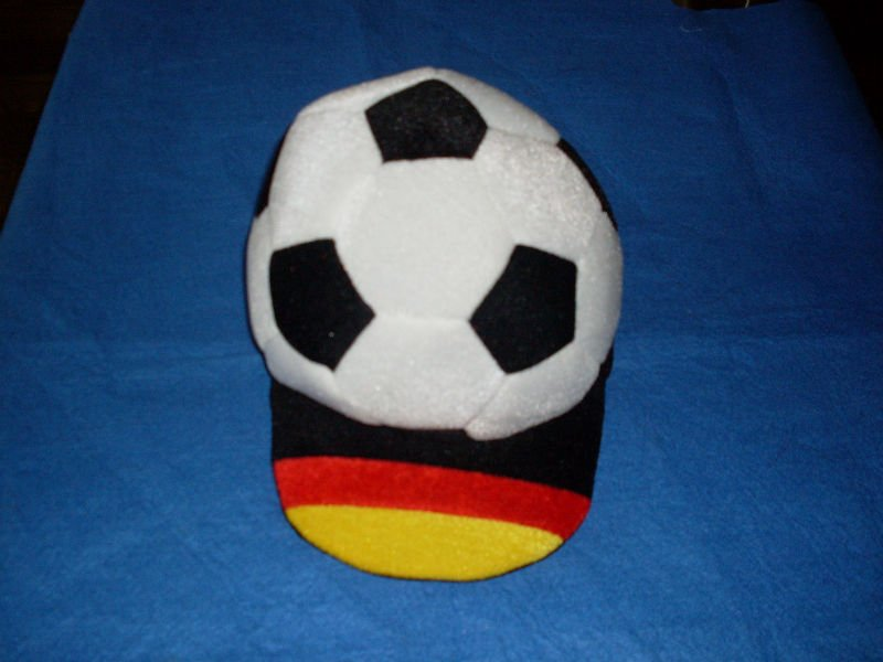 OEM funny football fan hat crazy hats for football fans