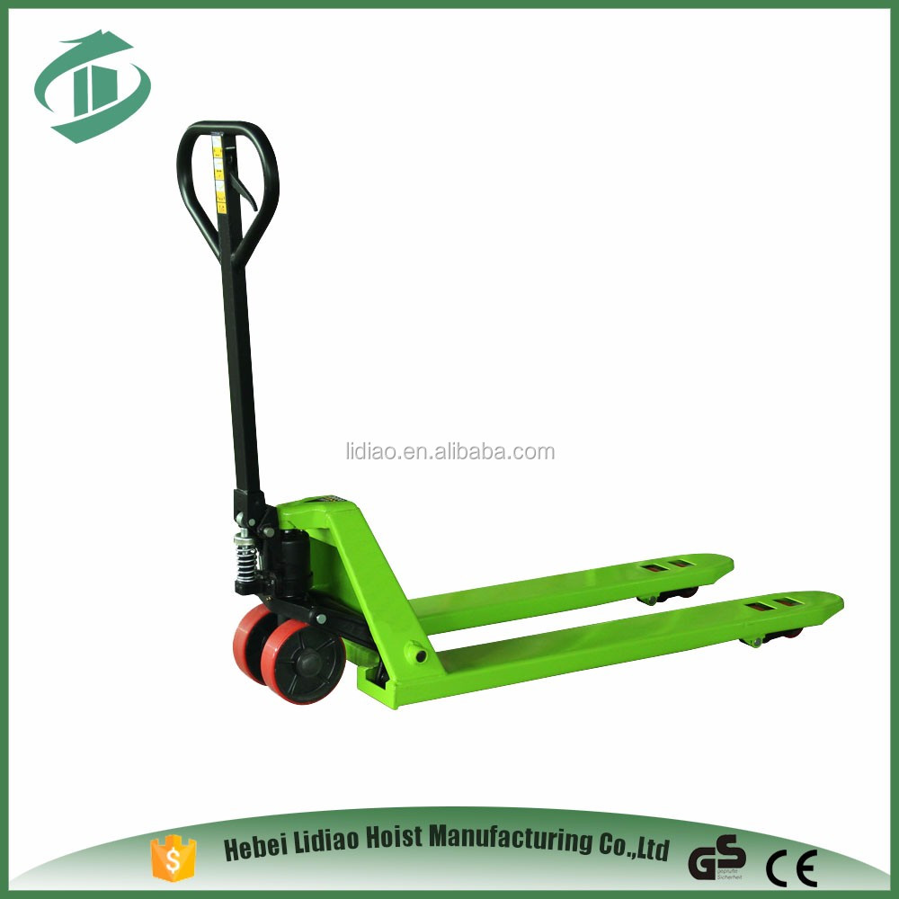 Top Quality JF nylon wheel cheap pallet jack 2t electric powered pallet trucks